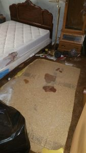 meth contaminated mattress