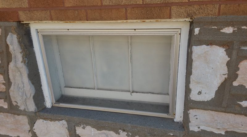 basement window meth